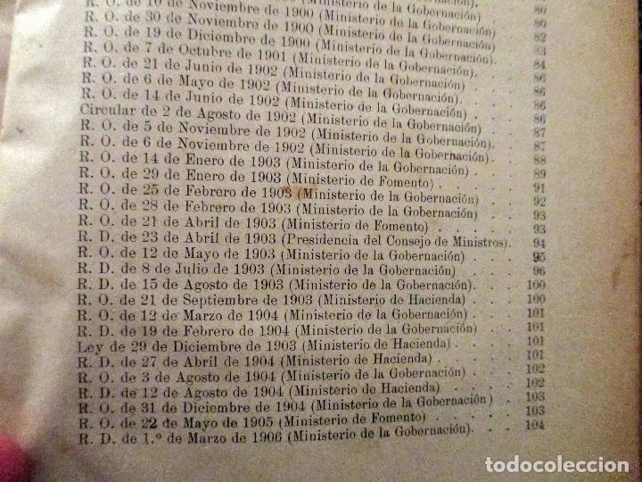 Libros antiguos: MANUEL DEL NIDO Y TORRES. LEY DE ACCIDENTES DEL TRABAJO. 1911. SEVILLA. DERECHO. - Foto 6 - 194322843