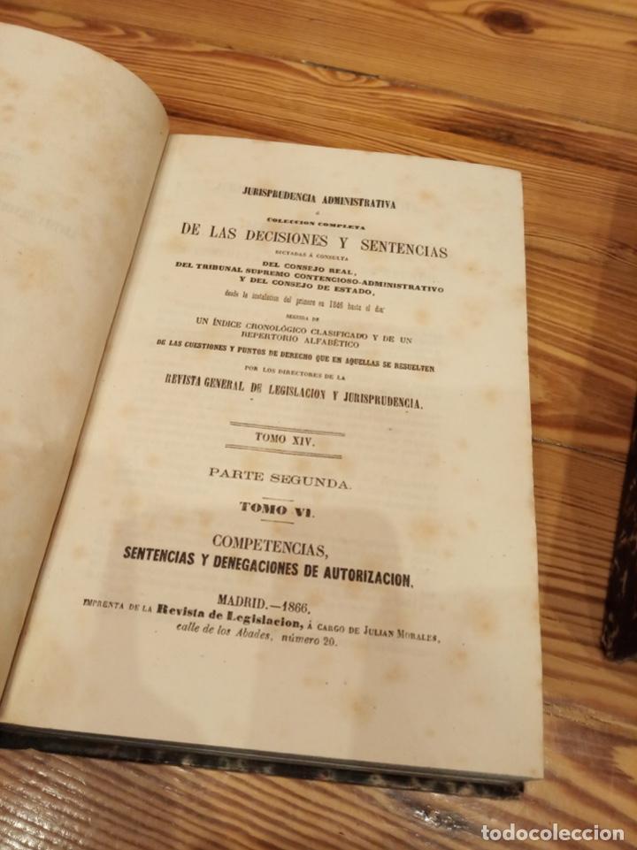 Libros antiguos: Biblioteca jurídica de la Revista General Legislación Jurisprudencia 1866 1868 1870 1873 1874 1875 - Foto 3 - 194332805