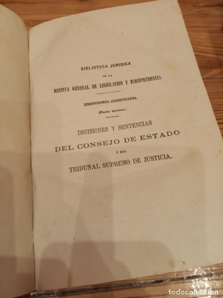Libros antiguos: Revista General de Legislación y Jurisprudencia 1870 1875 1877 1878 - Foto 2 - 194333292