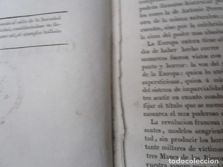 Libros antiguos: COLECCIÓN DE LAS CAUSAS MÁS CÉLEBRES... PARTE ESPAÑOLA. TOMO I. EDICION 1837?? FALTA PORTADA + INFO - Foto 4 - 194348607