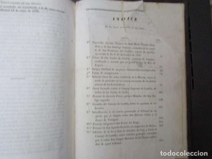 Libros antiguos: COLECCIÓN DE LAS CAUSAS MÁS CÉLEBRES... PARTE ESPAÑOLA. TOMO I. EDICION 1837?? FALTA PORTADA + INFO - Foto 5 - 194348607