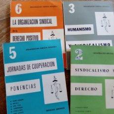 Libros antiguos: LOTE PUBLICACIONES- ORGANIZACIÓN SINDICAL ESPAÑOLA. Lote 194386560