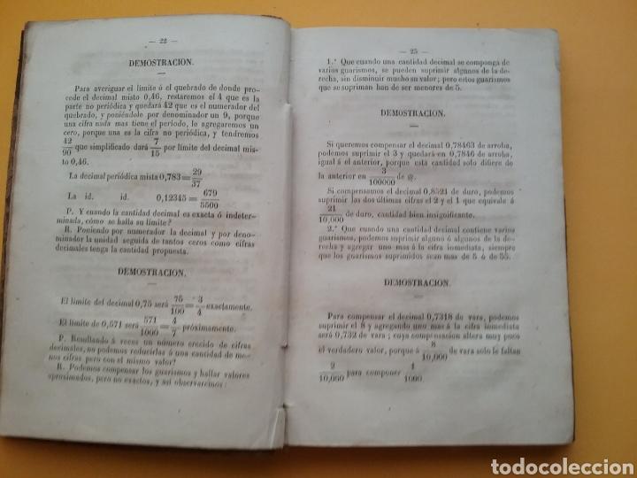 Libros antiguos: Compendio General de las Operaciones del giro y de la banca, según las cotizaciones 1855. - Foto 5 - 194393403