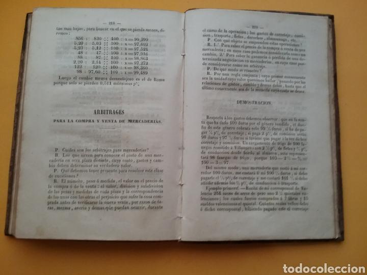 Libros antiguos: Compendio General de las Operaciones del giro y de la banca, según las cotizaciones 1855. - Foto 8 - 194393403