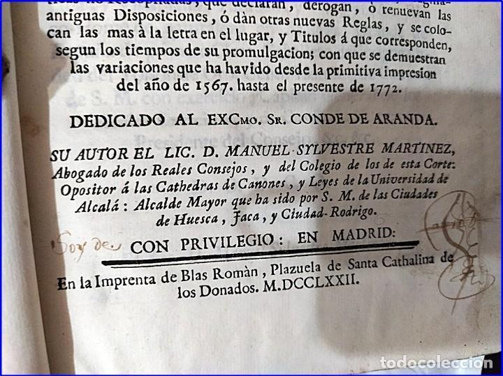 Libros antiguos: AÑO 1772: MADRID. LIBRERÍA DE JUECES. 2 VOLUM: MANCEBAS,MORISCOS,HECHICEROS,CATALUÑA EN LO JUDICIAL - Foto 4 - 194521381