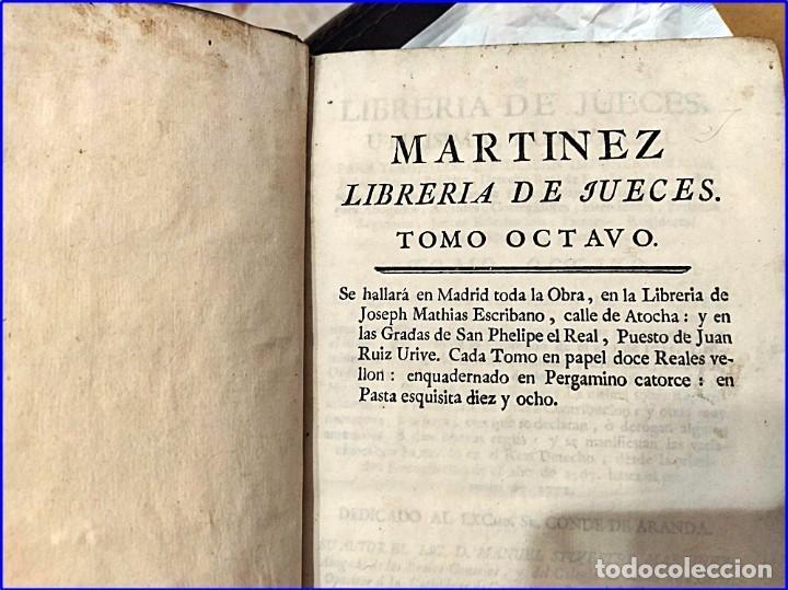 Libros antiguos: AÑO 1772: MADRID. LIBRERÍA DE JUECES. 2 VOLUM: MANCEBAS,MORISCOS,HECHICEROS,CATALUÑA EN LO JUDICIAL - Foto 5 - 194521381