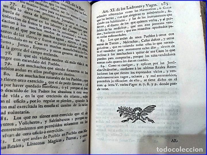 Libros antiguos: AÑO 1772: MADRID. LIBRERÍA DE JUECES. 2 VOLUM: MANCEBAS,MORISCOS,HECHICEROS,CATALUÑA EN LO JUDICIAL - Foto 7 - 194521381