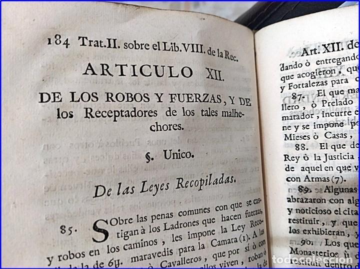 Libros antiguos: AÑO 1772: MADRID. LIBRERÍA DE JUECES. 2 VOLUM: MANCEBAS,MORISCOS,HECHICEROS,CATALUÑA EN LO JUDICIAL - Foto 8 - 194521381