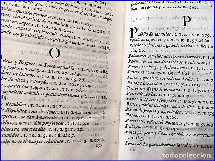 Libros antiguos: AÑO 1772: MADRID. LIBRERÍA DE JUECES. 2 VOLUM: MANCEBAS,MORISCOS,HECHICEROS,CATALUÑA EN LO JUDICIAL - Foto 12 - 194521381