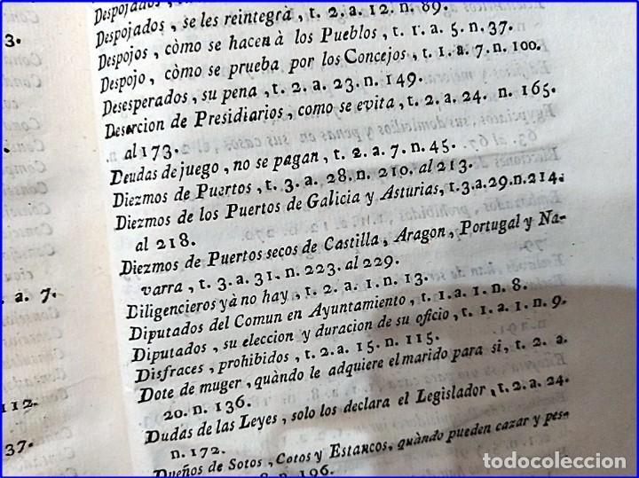 Libros antiguos: AÑO 1772: MADRID. LIBRERÍA DE JUECES. 2 VOLUM: MANCEBAS,MORISCOS,HECHICEROS,CATALUÑA EN LO JUDICIAL - Foto 17 - 194521381