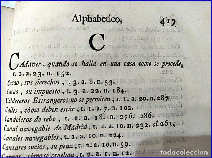 Libros antiguos: AÑO 1772: MADRID. LIBRERÍA DE JUECES. 2 VOLUM: MANCEBAS,MORISCOS,HECHICEROS,CATALUÑA EN LO JUDICIAL - Foto 19 - 194521381