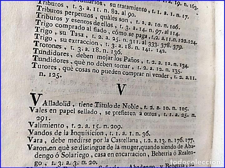 Libros antiguos: AÑO 1772: MADRID. LIBRERÍA DE JUECES. 2 VOLUM: MANCEBAS,MORISCOS,HECHICEROS,CATALUÑA EN LO JUDICIAL - Foto 20 - 194521381