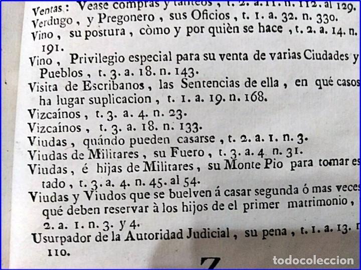 Libros antiguos: AÑO 1772: MADRID. LIBRERÍA DE JUECES. 2 VOLUM: MANCEBAS,MORISCOS,HECHICEROS,CATALUÑA EN LO JUDICIAL - Foto 21 - 194521381