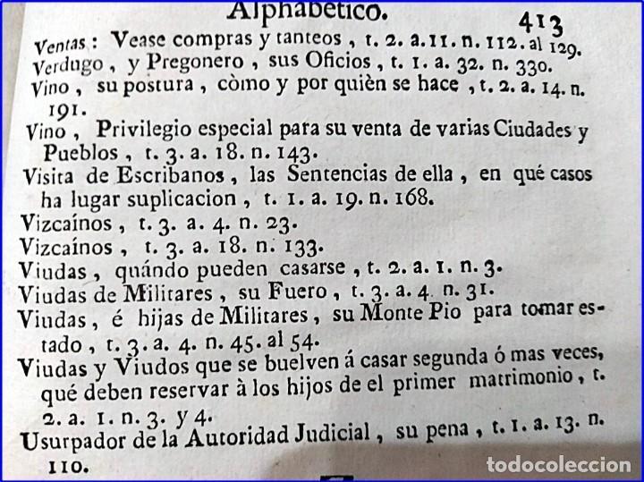 Libros antiguos: AÑO 1772: MADRID. LIBRERÍA DE JUECES. 2 VOLUM: MANCEBAS,MORISCOS,HECHICEROS,CATALUÑA EN LO JUDICIAL - Foto 22 - 194521381