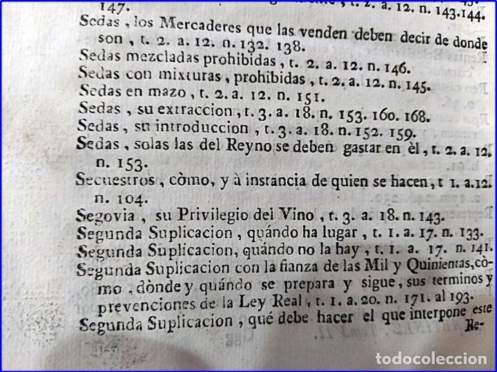 Libros antiguos: AÑO 1772: MADRID. LIBRERÍA DE JUECES. 2 VOLUM: MANCEBAS,MORISCOS,HECHICEROS,CATALUÑA EN LO JUDICIAL - Foto 23 - 194521381
