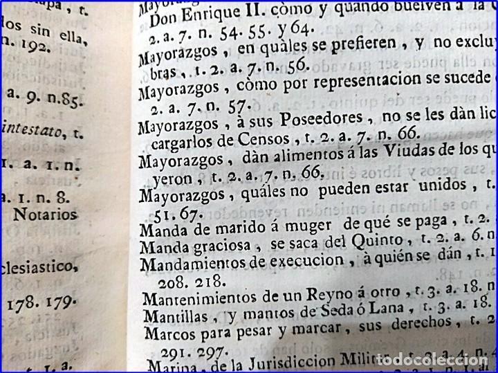 Libros antiguos: AÑO 1772: MADRID. LIBRERÍA DE JUECES. 2 VOLUM: MANCEBAS,MORISCOS,HECHICEROS,CATALUÑA EN LO JUDICIAL - Foto 24 - 194521381