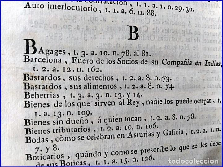 Libros antiguos: AÑO 1772: MADRID. LIBRERÍA DE JUECES. 2 VOLUM: MANCEBAS,MORISCOS,HECHICEROS,CATALUÑA EN LO JUDICIAL - Foto 25 - 194521381