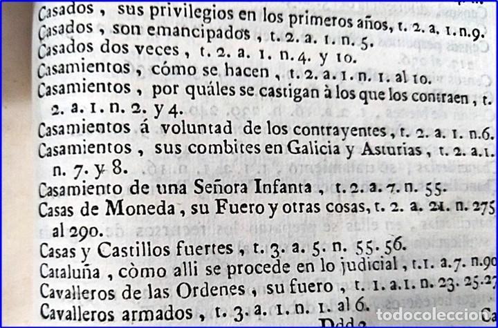 Libros antiguos: AÑO 1772: MADRID. LIBRERÍA DE JUECES. 2 VOLUM: MANCEBAS,MORISCOS,HECHICEROS,CATALUÑA EN LO JUDICIAL - Foto 26 - 194521381