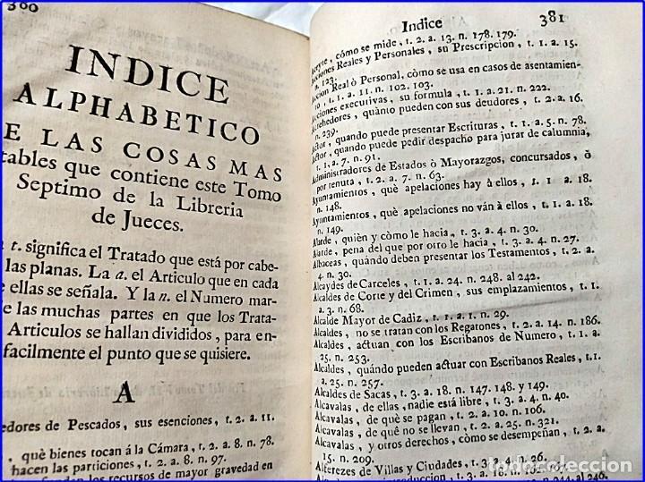 Libros antiguos: AÑO 1772: MADRID. LIBRERÍA DE JUECES. 2 VOLUM: MANCEBAS,MORISCOS,HECHICEROS,CATALUÑA EN LO JUDICIAL - Foto 28 - 194521381