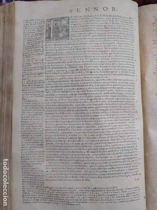 Libros antiguos: 1623. Opiniones de comunes. Jerónimo de Cevallos. Derecho Canónico. Folio. Pergamino. - Foto 14 - 194785091