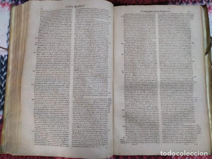Libros antiguos: 1623. Opiniones de comunes. Jerónimo de Cevallos. Derecho Canónico. Folio. Pergamino. - Foto 21 - 194785091