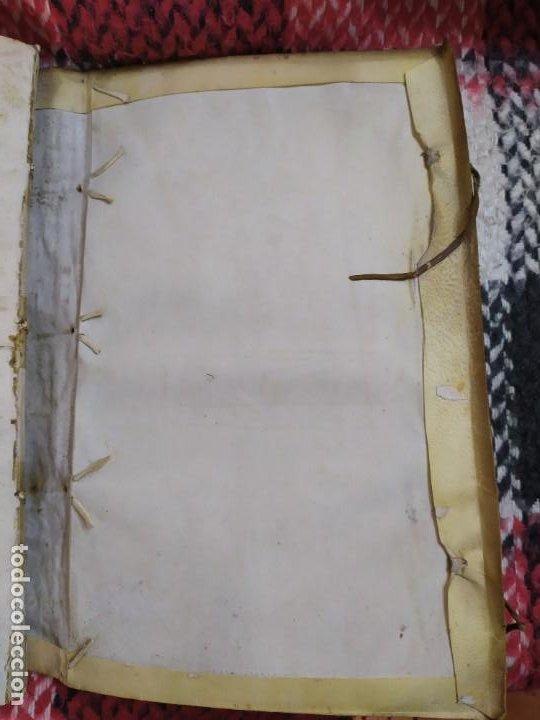 Libros antiguos: 1623. Opiniones de comunes. Jerónimo de Cevallos. Derecho Canónico. Folio. Pergamino. - Foto 28 - 194785091
