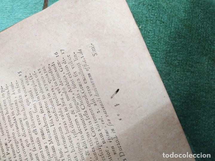 Libros antiguos: 1623. Opiniones de comunes. Jerónimo de Cevallos. Derecho Canónico. Folio. Pergamino. - Foto 35 - 194785091