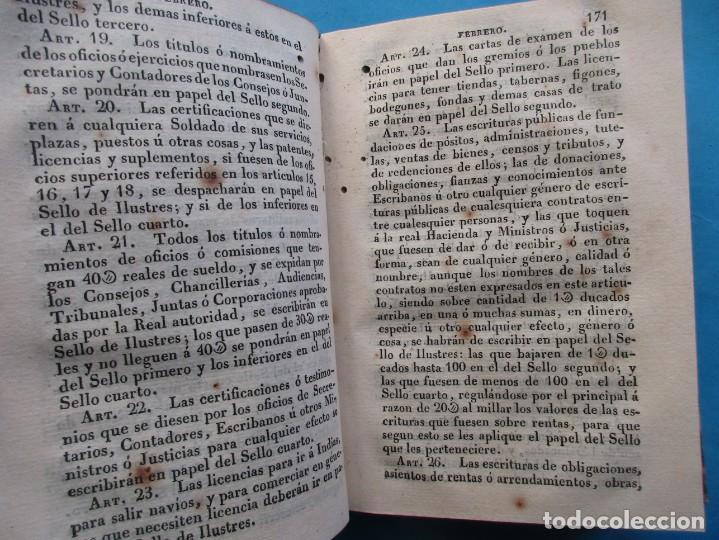 Libros antiguos: REALES DECRETOS Y ÓRDENES DE S.M.EXPEDIDOS DESDE EL AÑO DE 18234. NARCISO FERRER Y JOU. 1828 - Foto 4 - 194863948