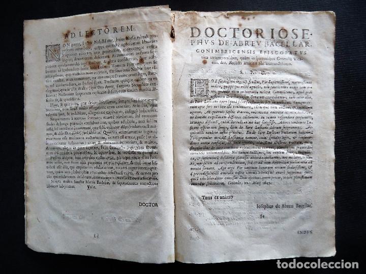 Libros antiguos: PORTUGAL.COIMBRA.DE IVRE LVSITANO TOMVS PRIMVS IN TRES..MATHEO HOMEM LEITAM OLIM.1675 - Foto 7 - 195295208