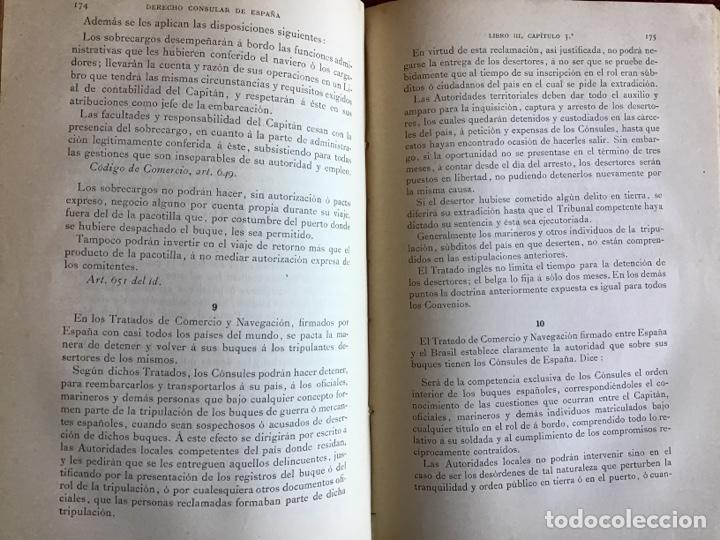 Libros antiguos: Derecho Consular de España. Eduardo Toda y Guell. 1889 - Foto 5 - 195300952