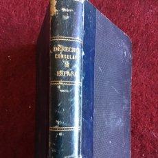 Libros antiguos: DERECHO CONSULAR DE ESPAÑA. EDUARDO TODA Y GUELL. 1889. Lote 195300952