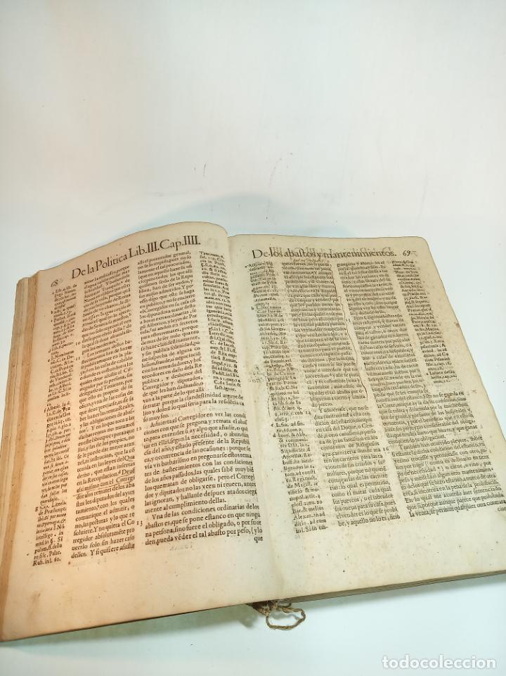 Libros antiguos: De la política para corregidores, señores vassallos,regidores, pesquisidores y para jueces.. 1650. - Foto 3 - 195309650