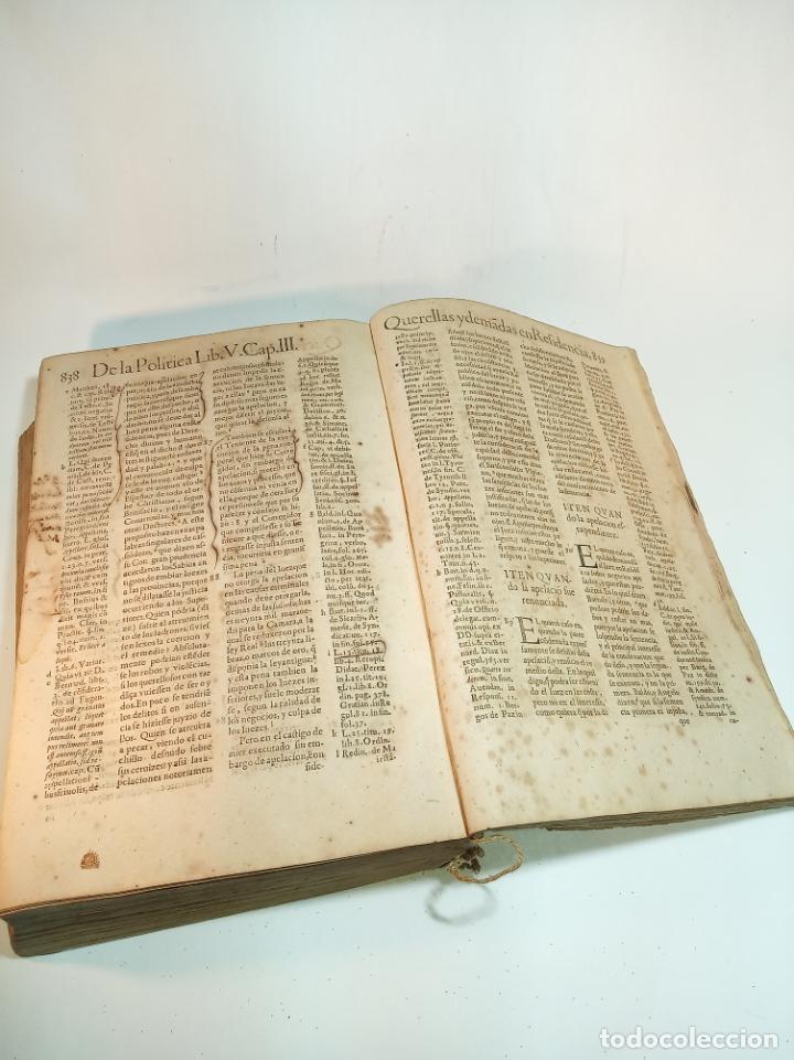 Libros antiguos: De la política para corregidores, señores vassallos,regidores, pesquisidores y para jueces.. 1650. - Foto 6 - 195309650