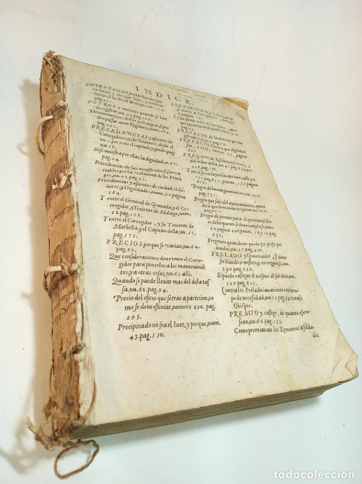 Libros antiguos: De la política para corregidores, señores vassallos,regidores, pesquisidores y para jueces.. 1650. - Foto 2 - 195309650