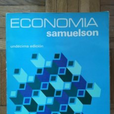 Libros antiguos: SAMUELSON. LIBRO DE ECONOMÍA. MCGRAW-HILL. Lote 195359487