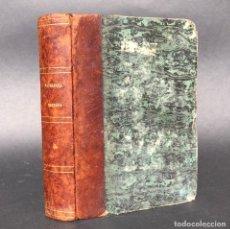 Libros antiguos: 1857 TRATADO TEORICO Y CLINICO DE PATOLOGÍA INTERNA DE TERAPÉUTICA MÉDICA - MEDICINA. Lote 195389108