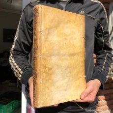 Libros antiguos: AÑO 1672 DE HISPANORUM PRIMOGENIORUM POR L. DE MOLINA - FOLIO - PERGAMINO - DERECHO. Lote 195392668