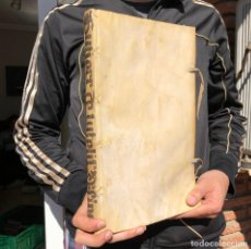 Libros antiguos: 1618 JOANNIS GUTIERREZ HISPANI - TRACTATUS NOVUS DE TUTELIS - PERGAMINO - FOLIO - DERECHO - PLASENCI. Lote 195393762