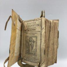 Libros antiguos: 1620 B. AVGUSTINI EPISCOPI, CONSTITVTIONES FRATRUM, BARCINONE. Lote 195443928