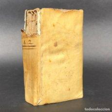 Libros antiguos: 1817 - ELEMENTA JURIS CIVILIS - DERECHO CIVIL - PERGAMINO - ROMANO. Lote 195447612