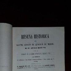 Libros antiguos: RESEÑA HISTÓRICA DEL ILUSTRE COLEGIO DE ABOGADOS DE MADRID - 1849. Lote 197138213