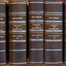 Libros antiguos: LIBRERÍA DE ESCRIBANOS, E INSTRUCCIÓN THEORICO PRACTICA PARA PRINCIPIANTES+BICENTENARIO JOSÉ FEBRERO. Lote 197575343