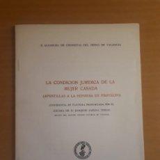 Libros antiguos: X ASAMBLEA DE CRONISTAS DEL REINO DE VALENCIA. Lote 197859060