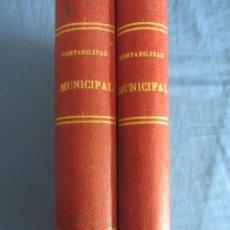 Libros antiguos: DICCIONARIO DE CONTABILIDAD MUNICIPAL. LEON VILLEN Y NEGRO. ED. HIJOS DE SANTIAGO RODRIGUEZ 2ªED.. Lote 198522358