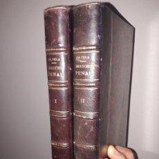 Libros antiguos: EL DERECHO PENAL, OBRA COMPLETA, LUIS SILVELA. ED. FERNANDO FE. 1903 EXCELENTE ESTADO. . Lote 198822100