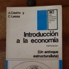 Libros antiguos: LIBRO, INTRODUCCION A LA ECONOMIA. Lote 198838483