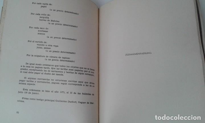 Libros antiguos: Ordinacions de los mediadores mercantiles de Barcelona tirada numerada de 100 ejemplares pergamino - Foto 7 - 114962423