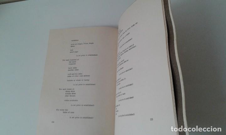 Libros antiguos: Ordinacions de los mediadores mercantiles de Barcelona tirada numerada de 100 ejemplares pergamino - Foto 9 - 114962423