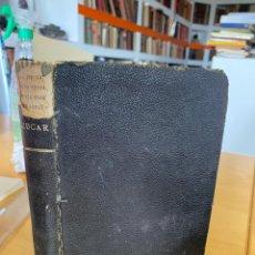 Libros antiguos: 1903.- 2 LIBROS. REGLAMENTO DE LA RENTA DEL ALCOHOL Y IMPUESTO DEL AZUCAR. Lote 200529455