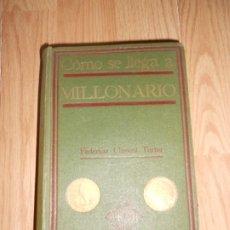 Libros antiguos: COMO SE LLEGA A MILLONARIO - FEDERICO CLIMENT TERRER. Lote 200530953